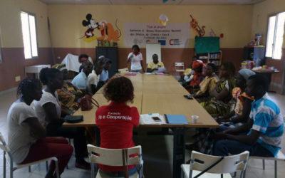 Sessão de formação aos pais e encarregados de educação das crianças da Casa de Acolhimento Bambaran institucionalizadas e reinseridas