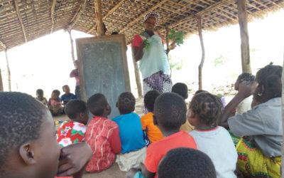 Primeiras visitas às Escolinhas Comunitárias do Niassa no âmbito do Projeto Othukumana II