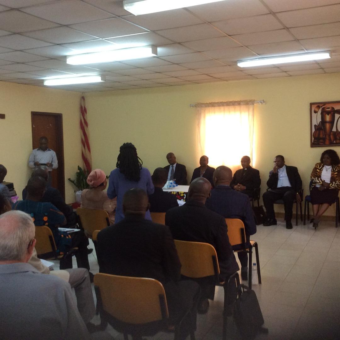 CA_AO_CA Lusófonas_Encontro na DGCA sobre cooperação entre Igrejas Cristãs e MINSA com CEAST e Ministra da Saúde_201804 (72)
