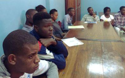 Camões, I.P. visita projeto Ser Jovem em Xipamanine