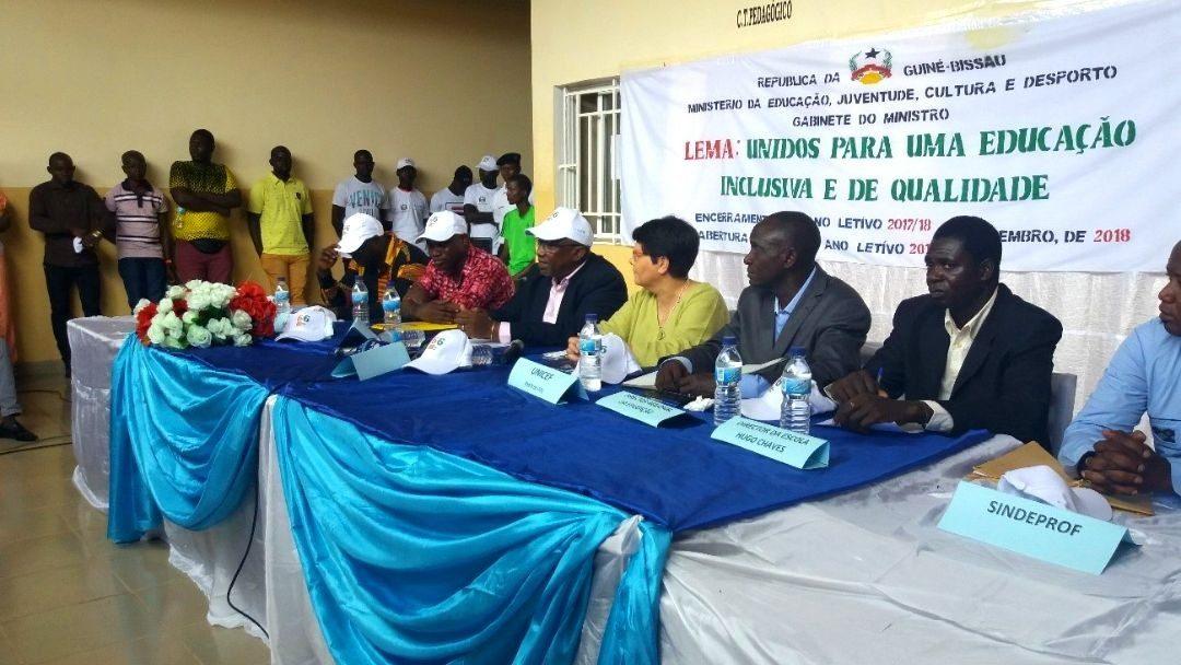 Cerimónia de Encerramento e Abertura do Ano Letivo na Guiné-Bissau