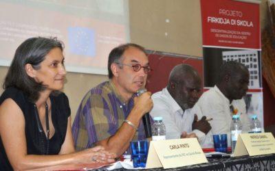 Seminário de Apresentação dos Resultados do Projeto Firkidja di Skola