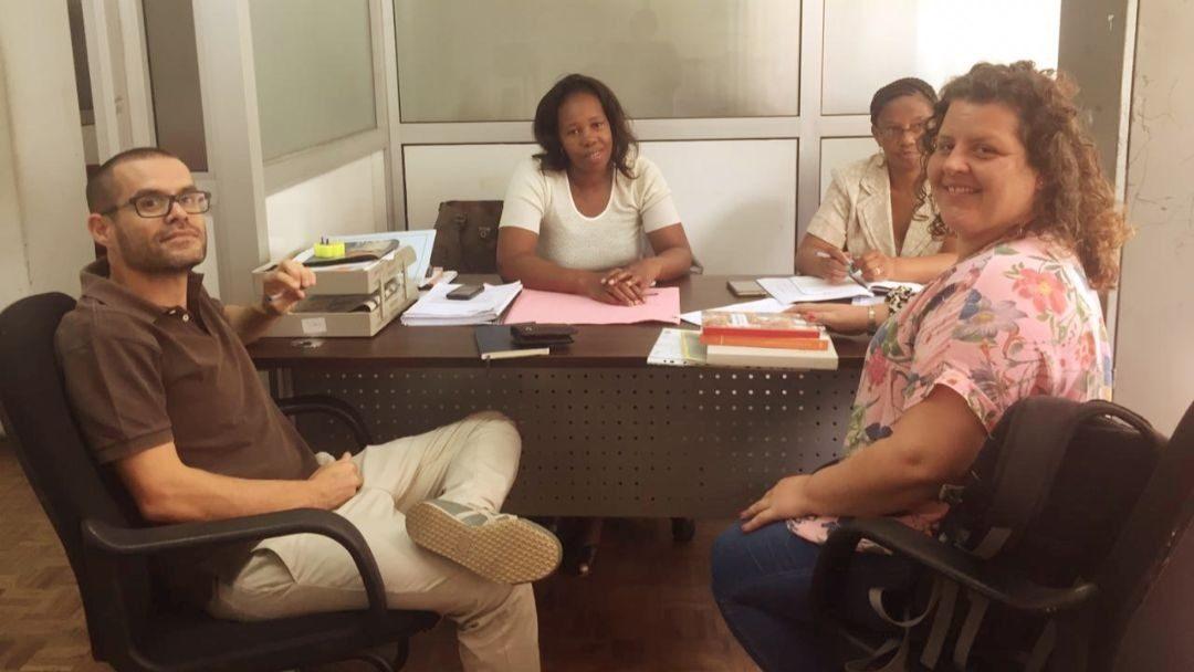 Reuniões de apresentação do projeto Tchovar