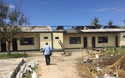 Reconstrução de Moçambique no pós-ciclone Idai