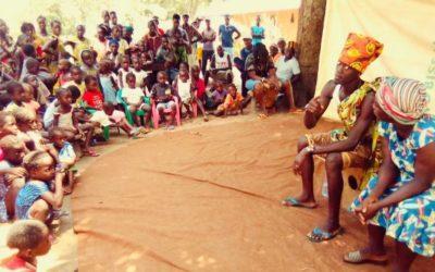 Espetáculo Vida di Mindjer chega às comunidades de Quinara na Guiné-Bissau