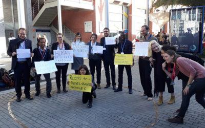 COP25 – À procura de ambição, financiamento e Direitos Humanos