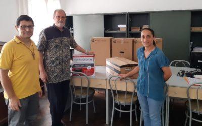 Projeto Somos Moçambique oferece equipamentos administrativos à Escola Santos Inocentes