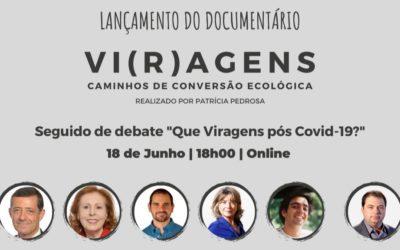 Estreia do documentário VI(R)AGENS, seguida de debate | 18 de junho | 18h00