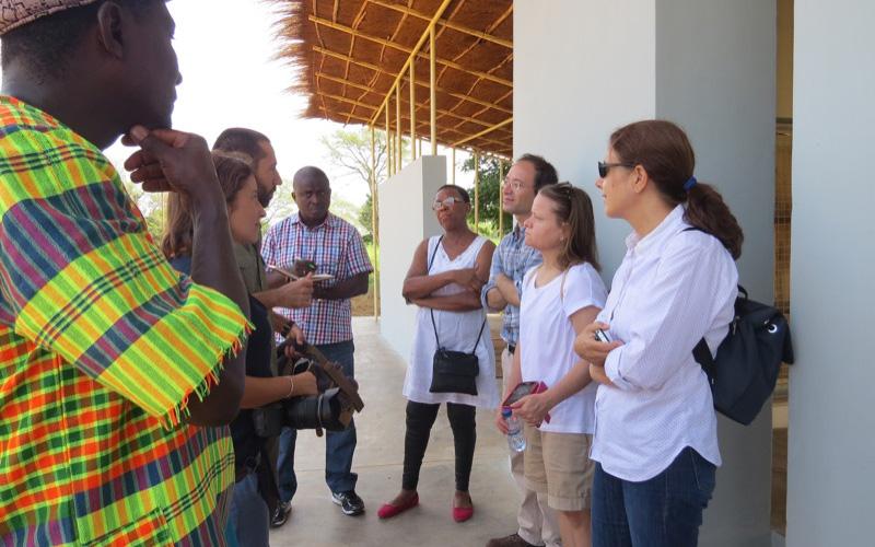 Visita do Instituto Camões ao Jardim de Infância de Có