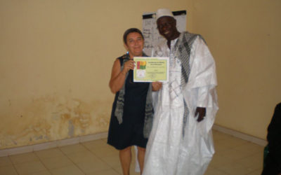 Prémio pelo trabalho no âmbito da educação em Bafatá