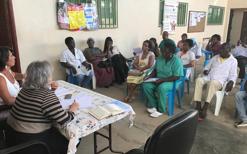 Reunião mensal do Centro Materno-Infantil Nossa Senhora da Graça