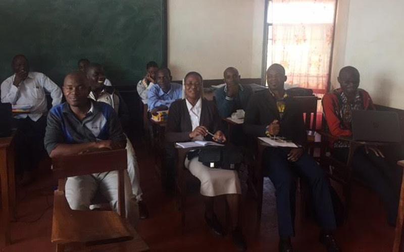 II Capacitação da Comissão Diocesana da Educação em Lichinga