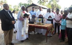 Benção de casa entregue a família no Siri Lanka