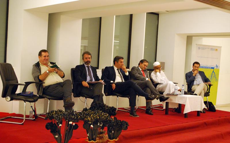 Líderes religiosos e políticos reunidos por uma alimentação adequada para todos