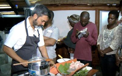 Reportagem da Televisão Pública de Angola sobre a MasterClass do Chef Henrique Sá Pessoa