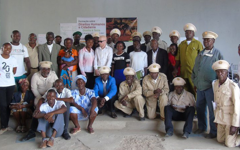 Mosaiko facilita formação sobre o Direito à Terra em Benguela
