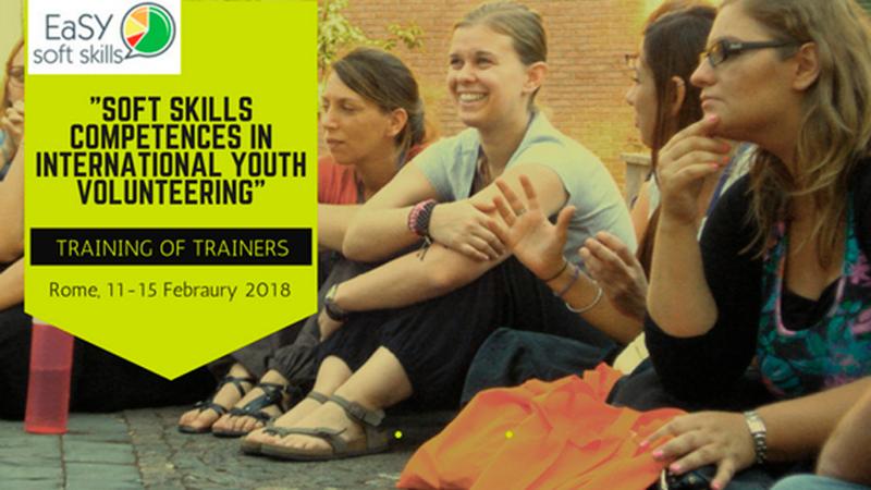 Formação em soft skills no voluntariado internacional de jovens, em Roma, Itália