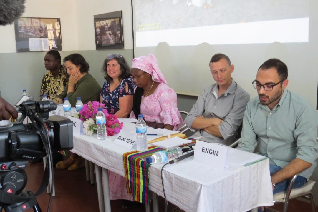 Apresentação do Projeto NÔ NA CUIDA DI NÔ VIDA, MINDJER