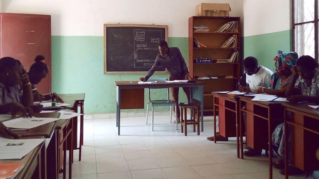 Arranque dos Cursos de Aperfeiçoamento de Língua Portuguesa II na Guiné-Bissau