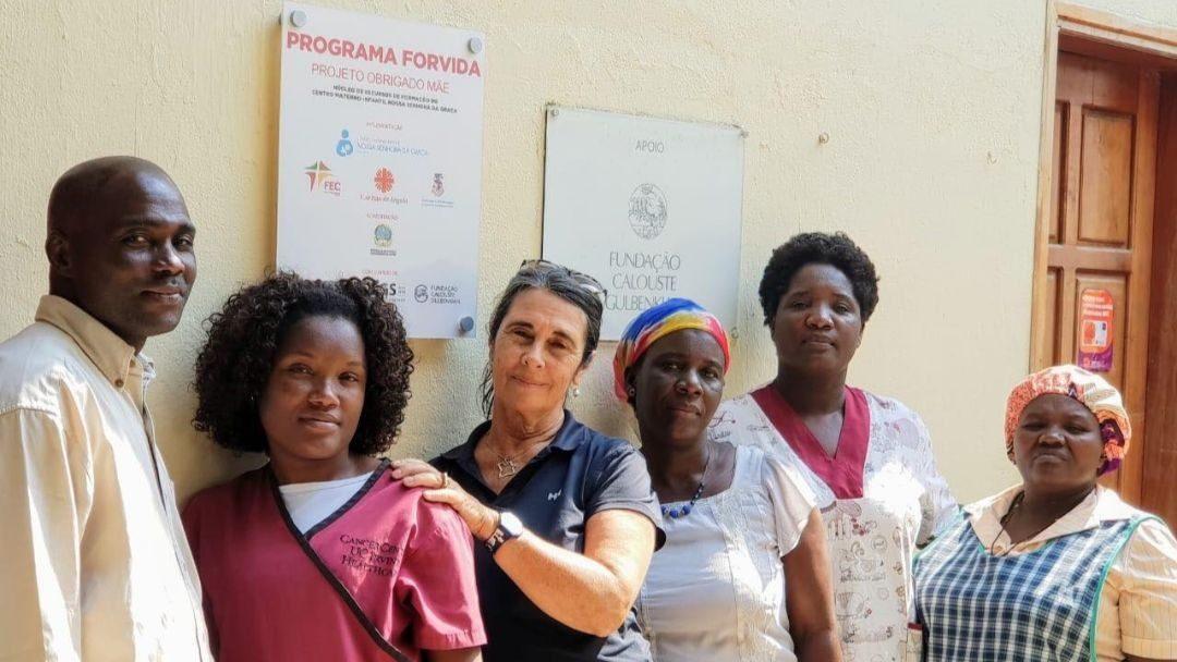 Projeto Obrigado Mãe reconhecido no Centro Materno-Infantil Nossa Senhora da Graça