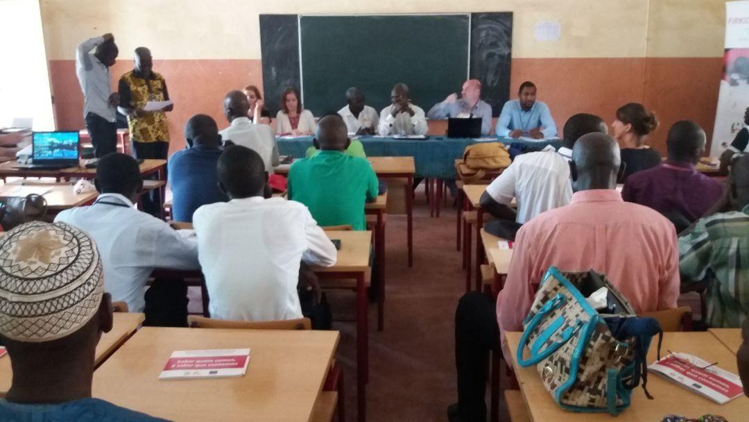 Workshop de devolução anual do Sistema de Informação e Gestão da Educação em Gabú