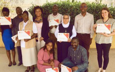 Colaboradores da Caritas de Angola recebem certificados da Formação em Comunicação Organizacional