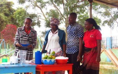 Formação em Nutrição e Diversificação Alimentar em Moçambique