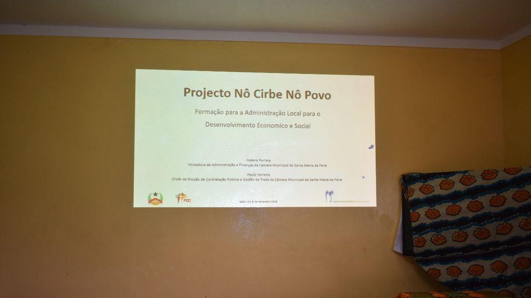 Gabú acolhe formação em gestão e administração pública
