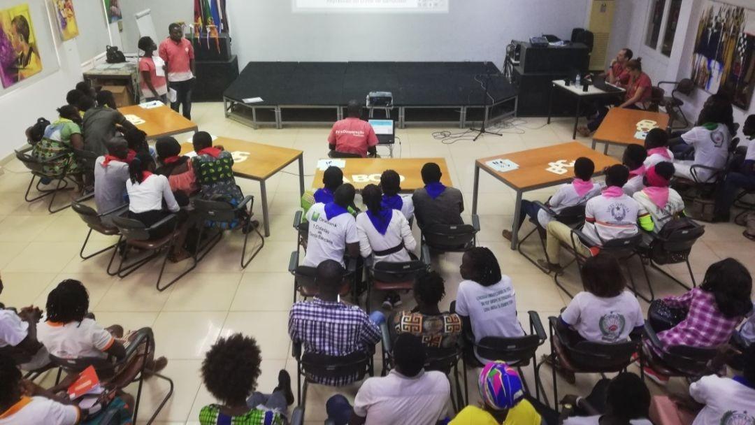 Olimpíadas dos Direitos na Guiné-Bissau