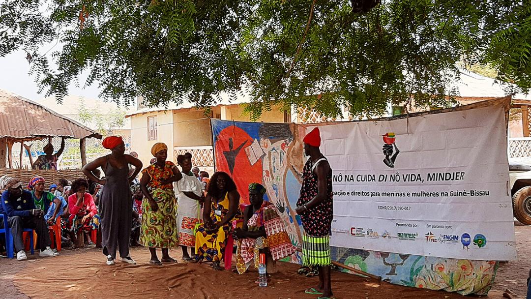 União Europeia visita projetos da FEC em Gabú e Bafatá