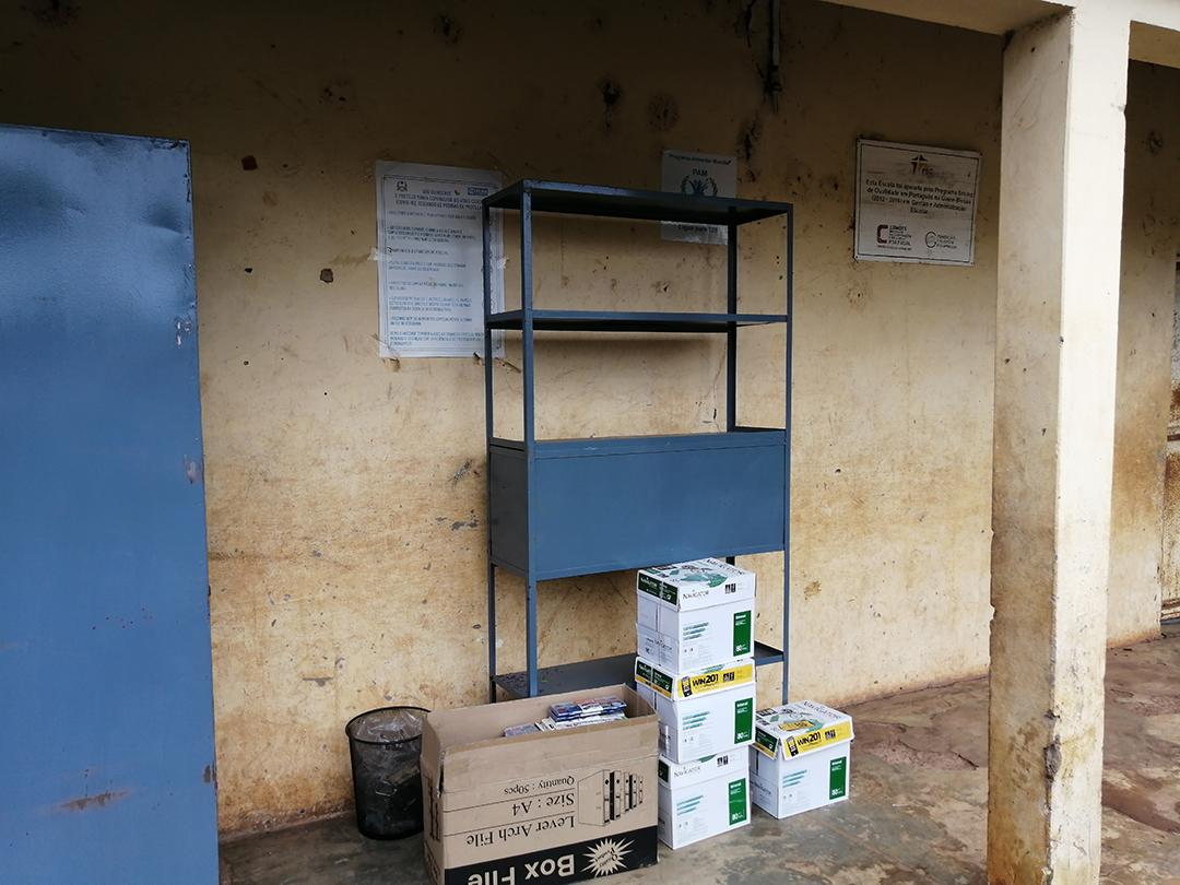BGTE, entrega de materiais