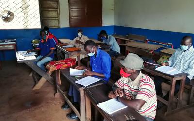 Formação em Gestão e Administração Escolar na Guiné-Bissau