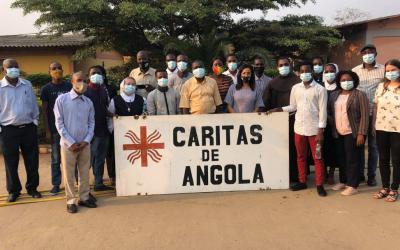 Caritas de Angola recebe formação em Gestão, Monitorização e Avaliação de Projeto