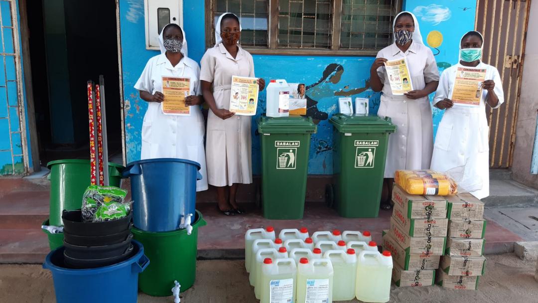 Entrega de kits de higiene e segurança – Projeto Somos Moçambique II