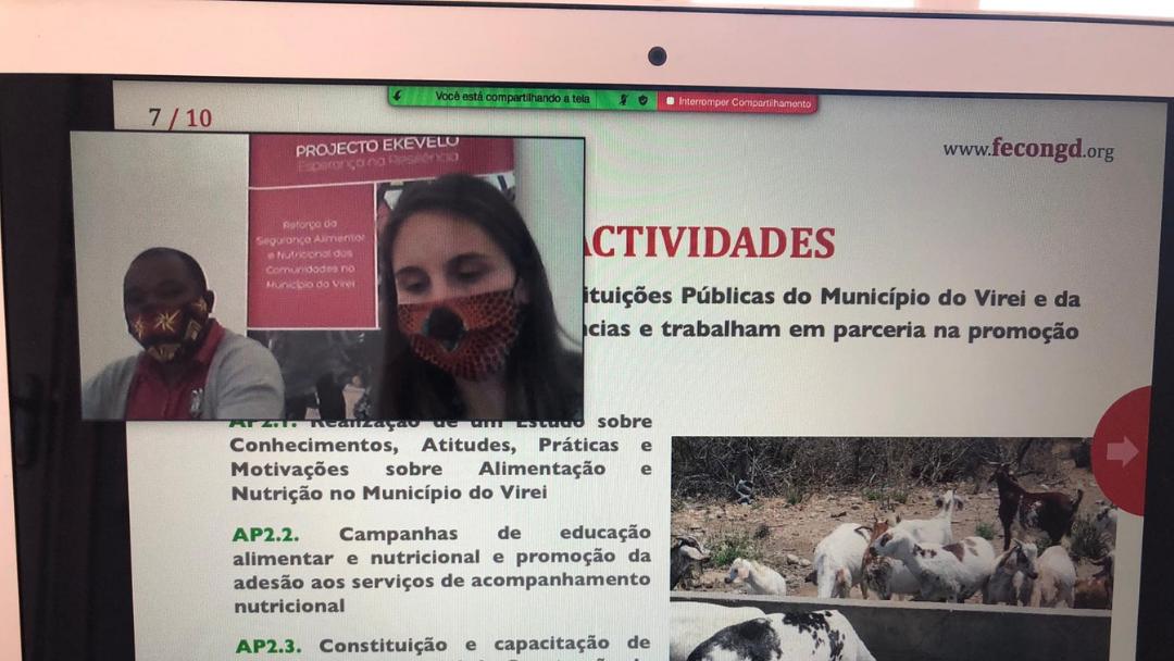 Apresentação pública do projeto EKEVELO e abertura do escritório na cidade de Moçâmedes