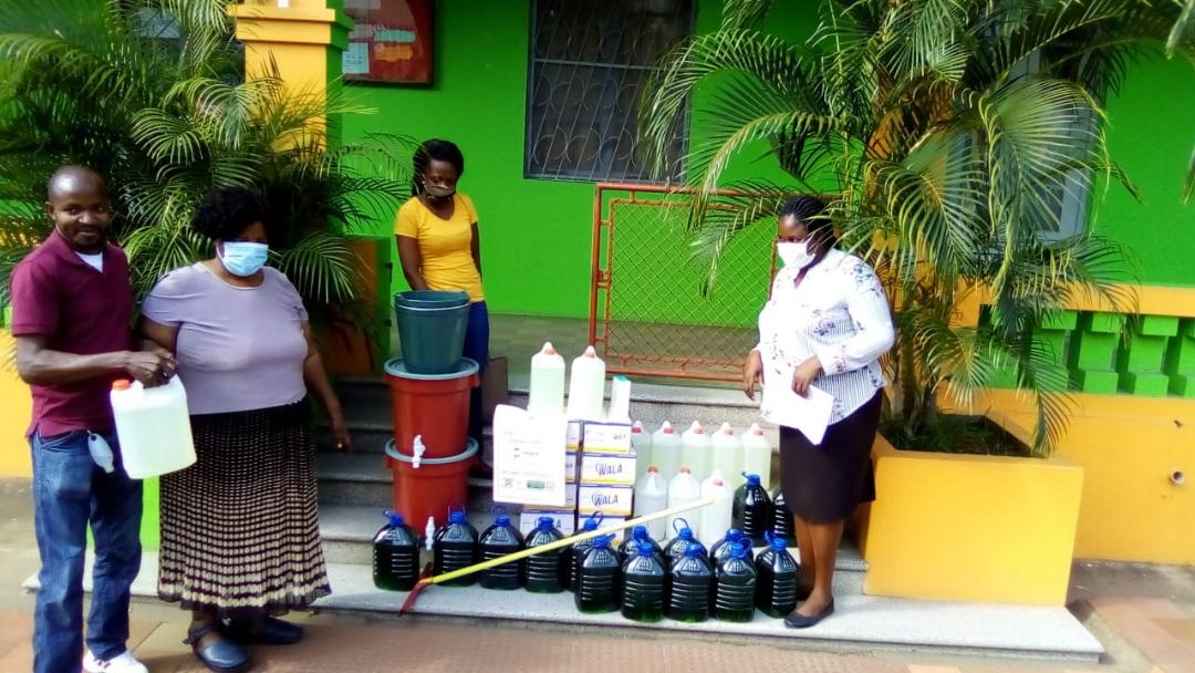 Estabelecimentos pré-escolares recebem kits de prevenção COVID-19