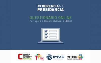 Participe no questionário Portugal e o Desenvolvimento Global