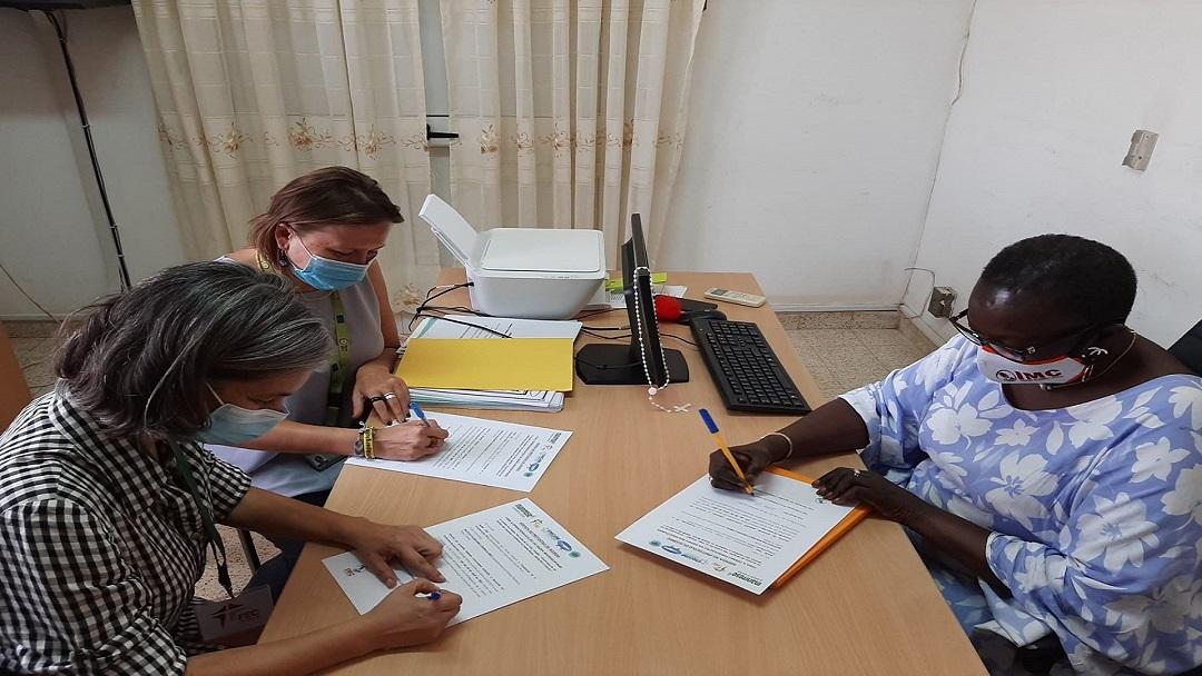 FEC e Mani Tese renovam parceria com Instituto da Mulher e da Criança na Guiné-Bissau