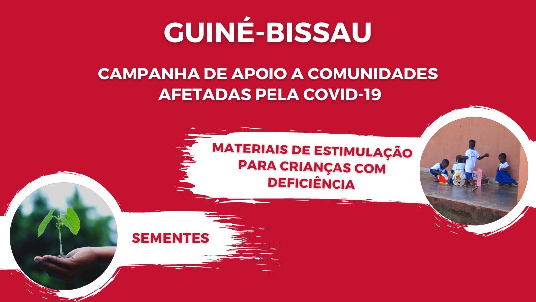 Guiné-Bissau: Campanha de apoio a comunidades afetadas pela COVID-19