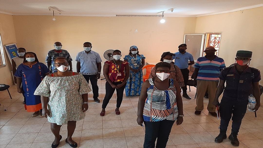 Encontros da Rede de Atendimento à Vítima de Violência Baseada em Género na Guiné-Bissau