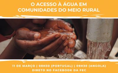 Seminário EKEVELO | O Acesso à água em comunidades do Meio Rural
