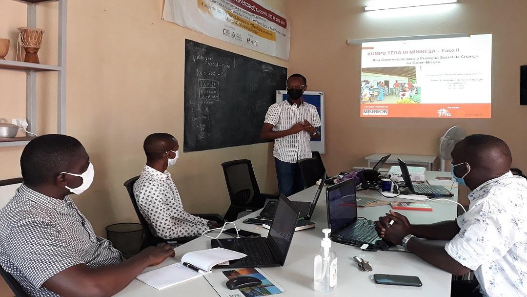 FEC dá formação em ações de sensibilização a técnicos da Cáritas Guiné-Bissau