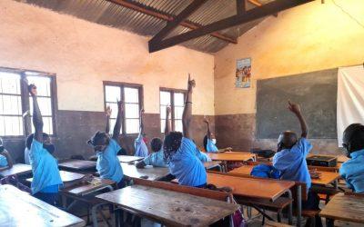 Animação Cultural nas Escolas do Distrito de Boane em Moçambique