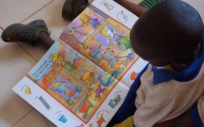 Inauguração da biblioteca do Jardim-Escola Inclusivo Bambaran