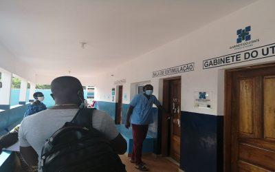 Visita a instituições que trabalham na área da inclusão em Bissau