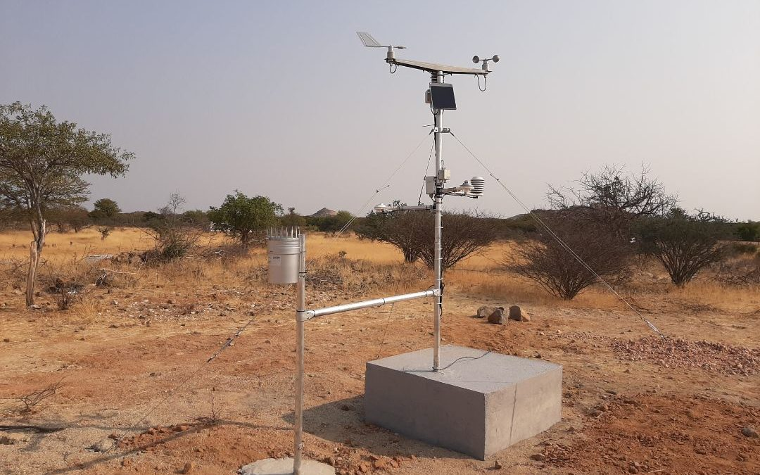 Projeto EKEVELO instala 2 Estações Agrometeorológicas