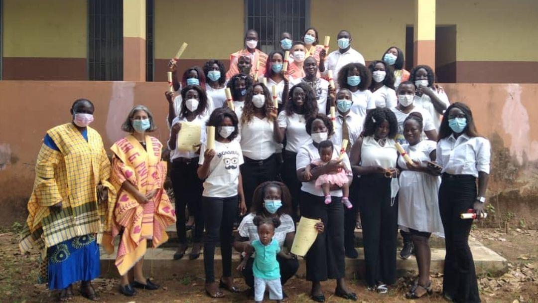 FEC entrega certificados a elementos do Jardim Escola Inclusivo Bambaran