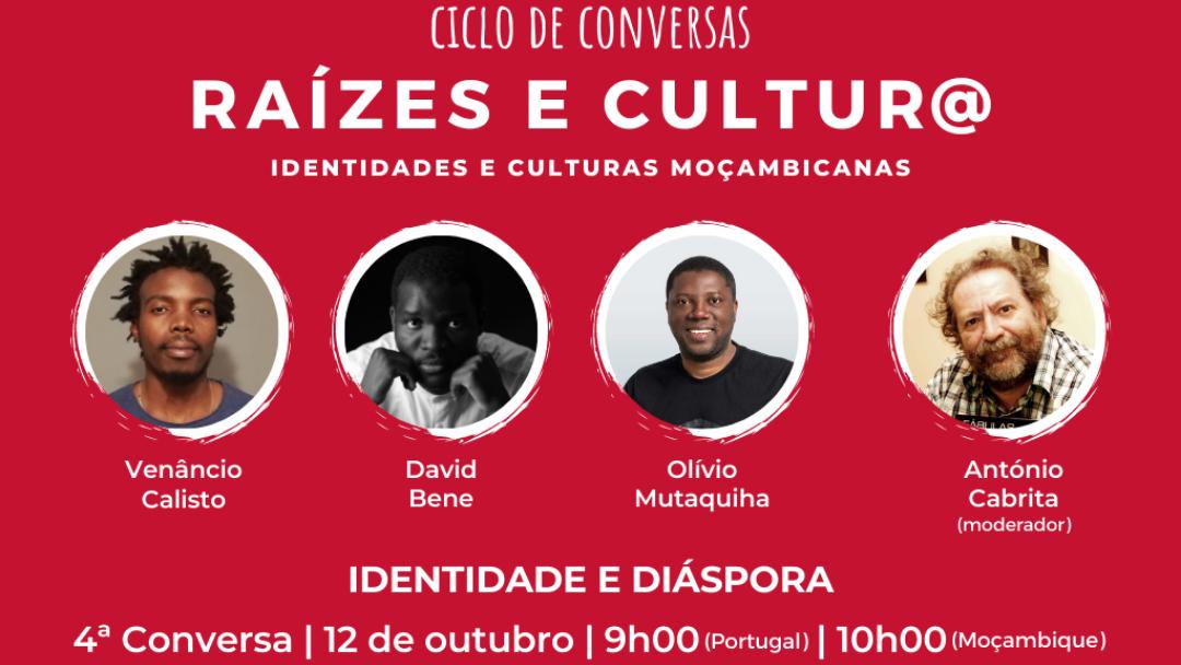 4ª Conversa Raízes e Cultur@ – Identidade e Diáspora