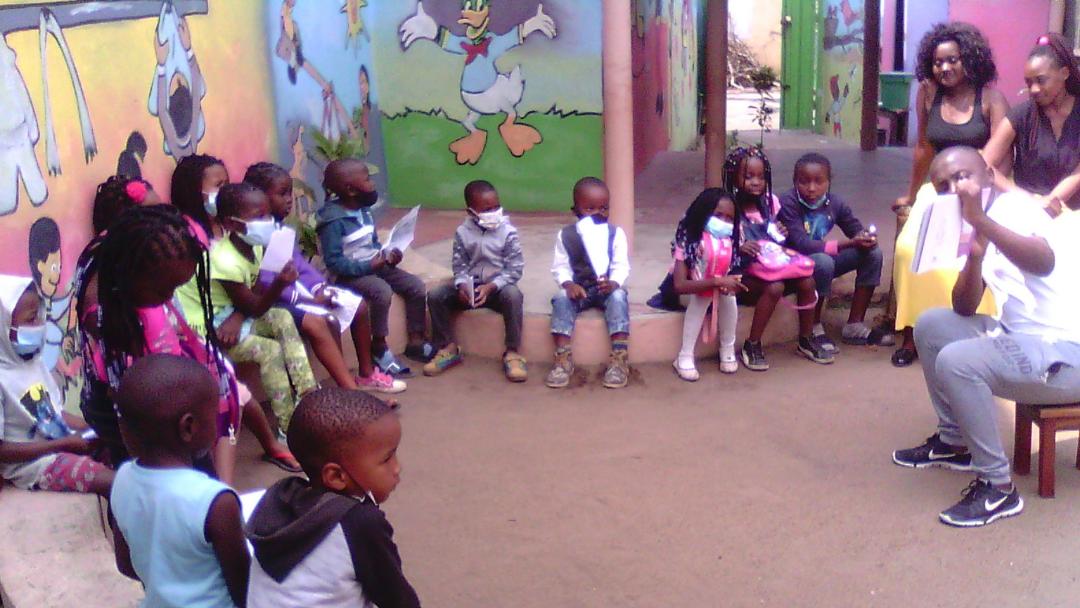 Projeto Tchovar recomeça atividades com a comunidade em Maputo